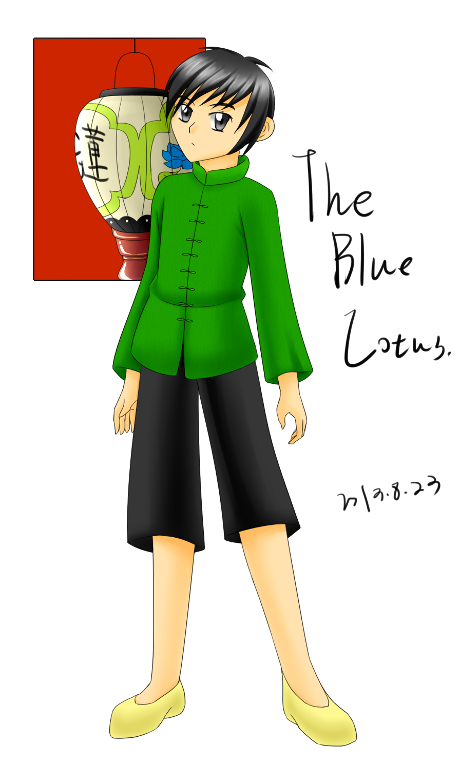 The Blue Lotus by Renny1998