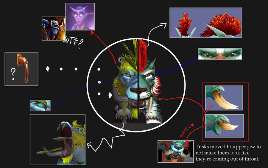 Troll Druid Catform copare by Ramz-y on DeviantArt
