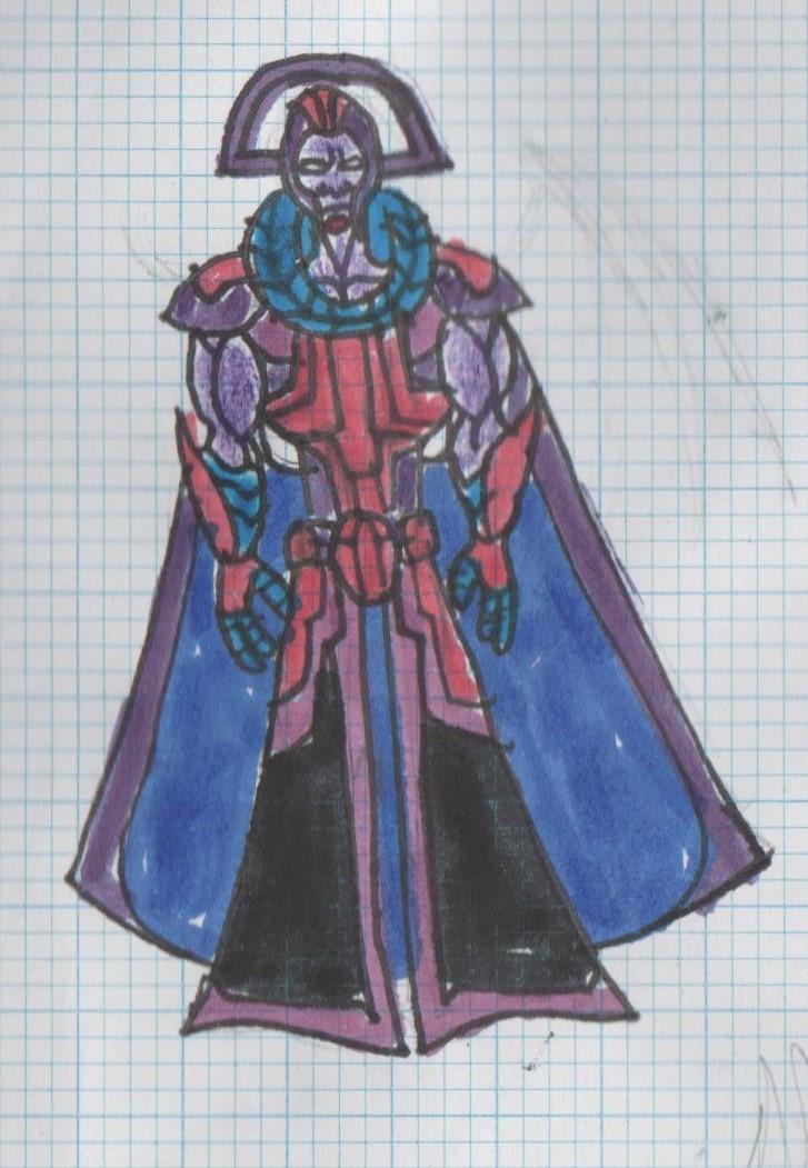 Steven Universe OC: Purple Diamond by XADarkAngelOfDeathX