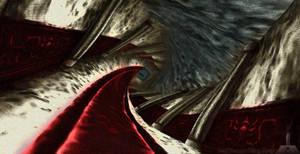 Zelda's Twisted Hallway by Leo Diamond