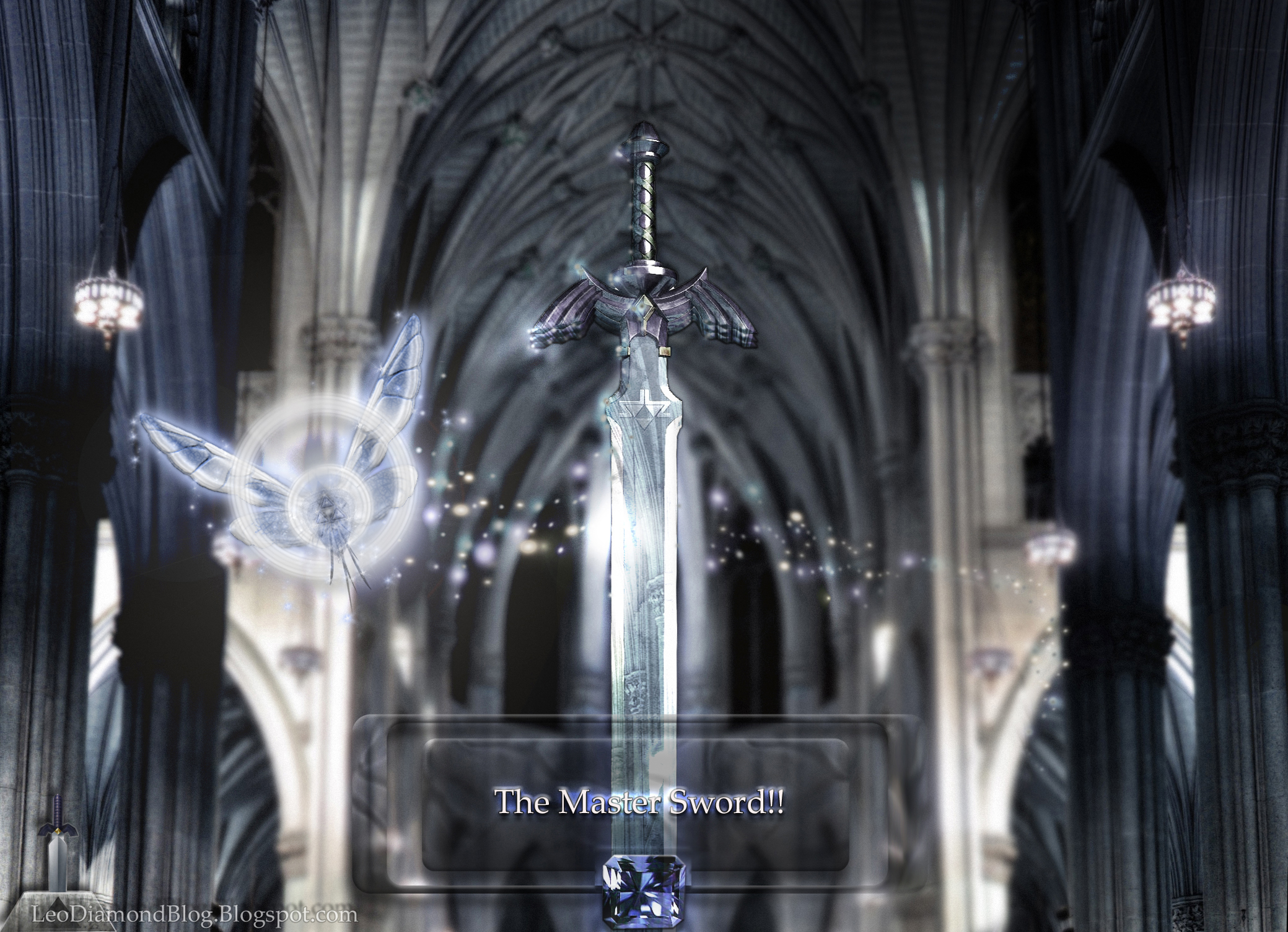 ~The Master Sword!! by LeoDiamond
