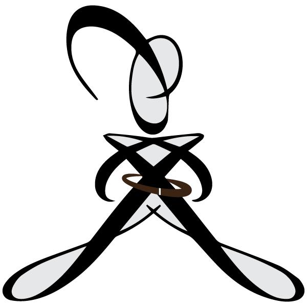 Womens Jiu-Jitsu Logo 41 Brown 1 by CharlesSmithOrg