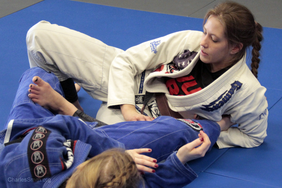 Nikki Sullivan BJJ by CharlesSmithOrg on DeviantArt