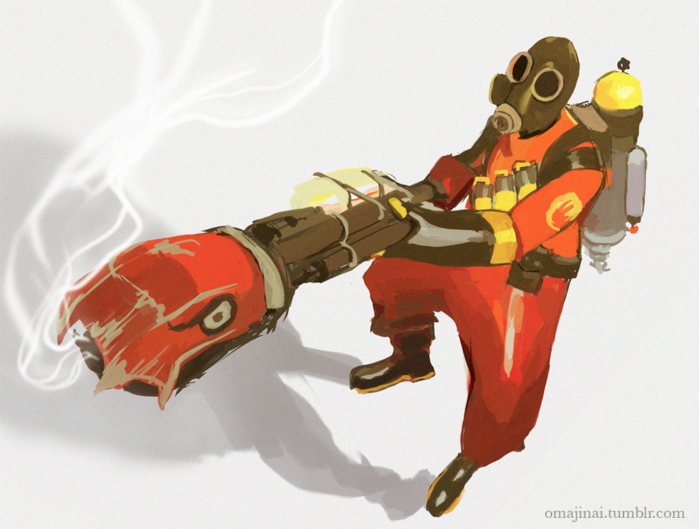 Pyro by omajinai