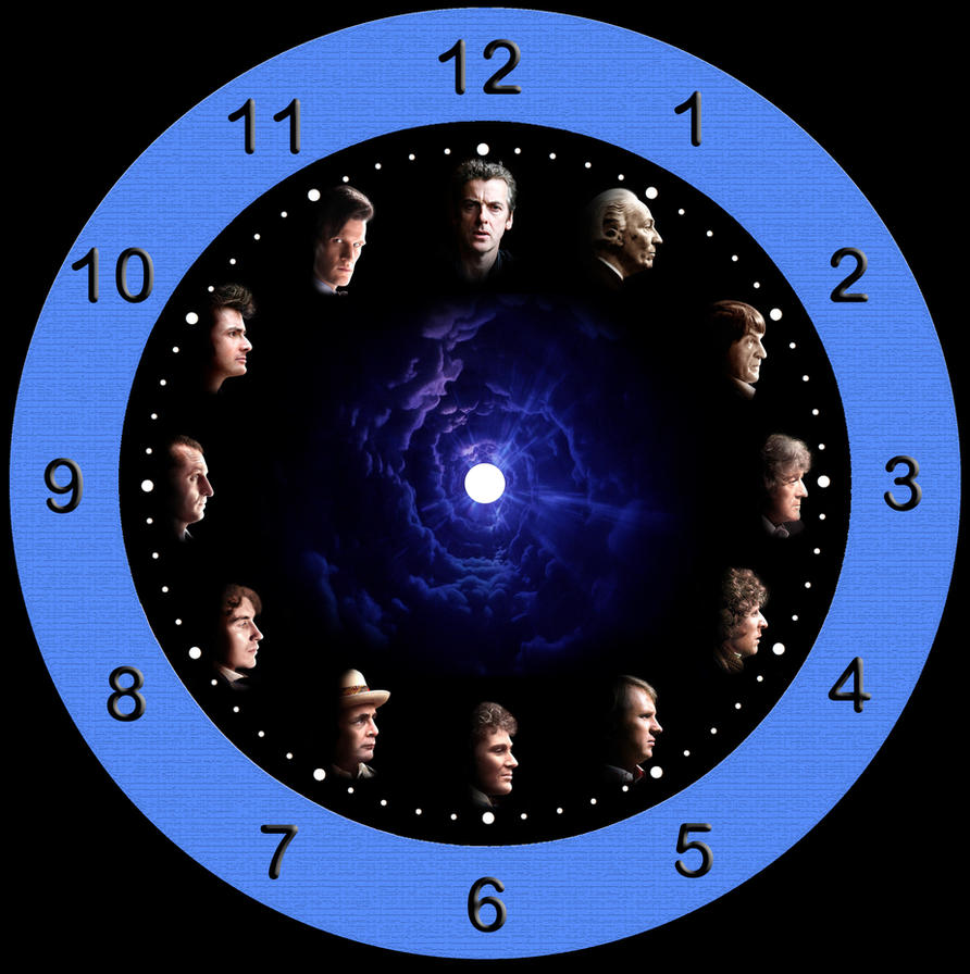 Clock Faces To Print Doctor who clock face 4