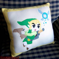 Link Pillow by 2sadsexually