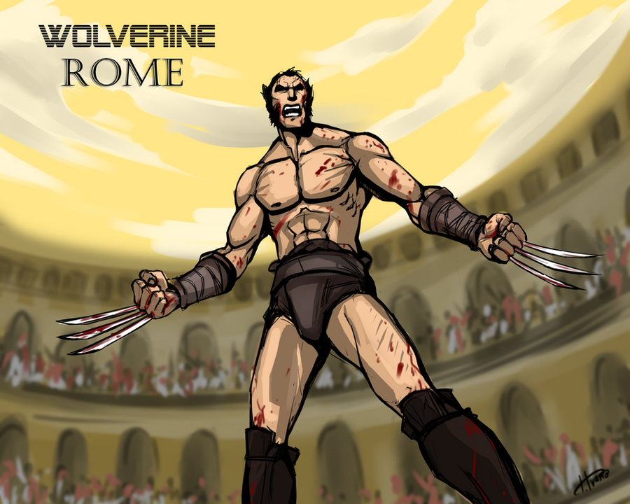 Wolverine (ROME) by Ferroconcrete247