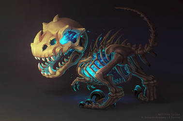 Fossilized Lich Hatchling