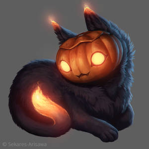 Pumpkin-Kitty [+ Time Lapse Video]
