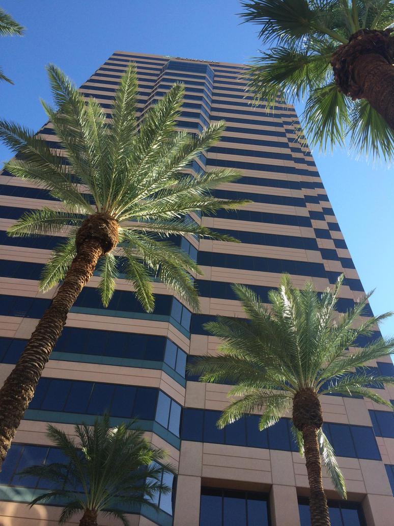 Telephone company, Phoenix, AZ by scootnoodles
