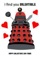 Dalek Valentine by leighta