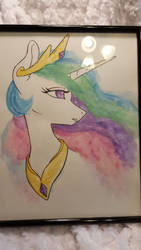 Ethereal Queen - Watercolor by chipperpony