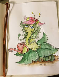 Nectar Watercolor by chipperpony