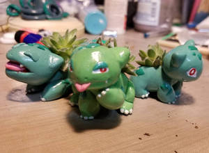 Bulbasaur Mini Planters