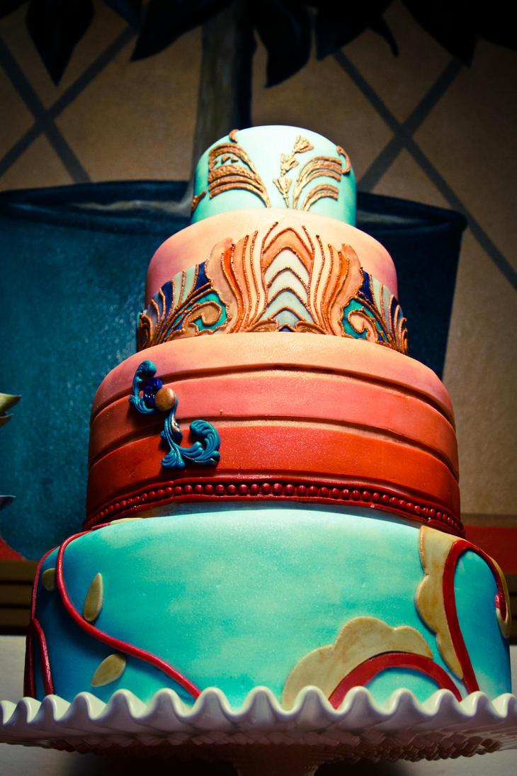 Deco Art Cake Mexicali : Art deco cake by Trishap on DeviantArt