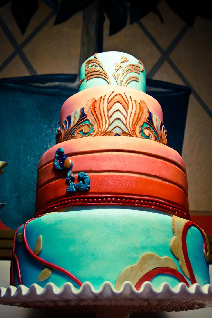 Art deco cake by trishap on deviantart for Art et decoration 2012
