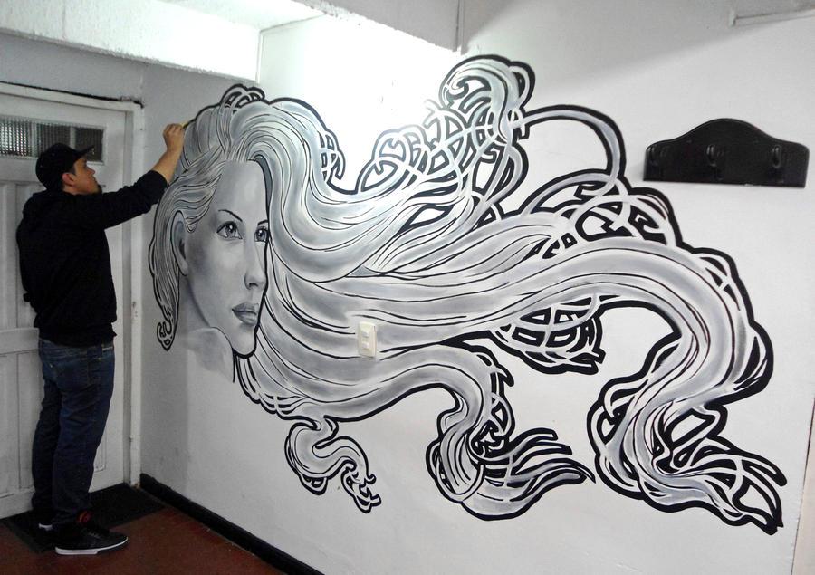 Mural by anubisreddeath