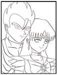 saiyaman and sailorsaturn by mangaaddict300