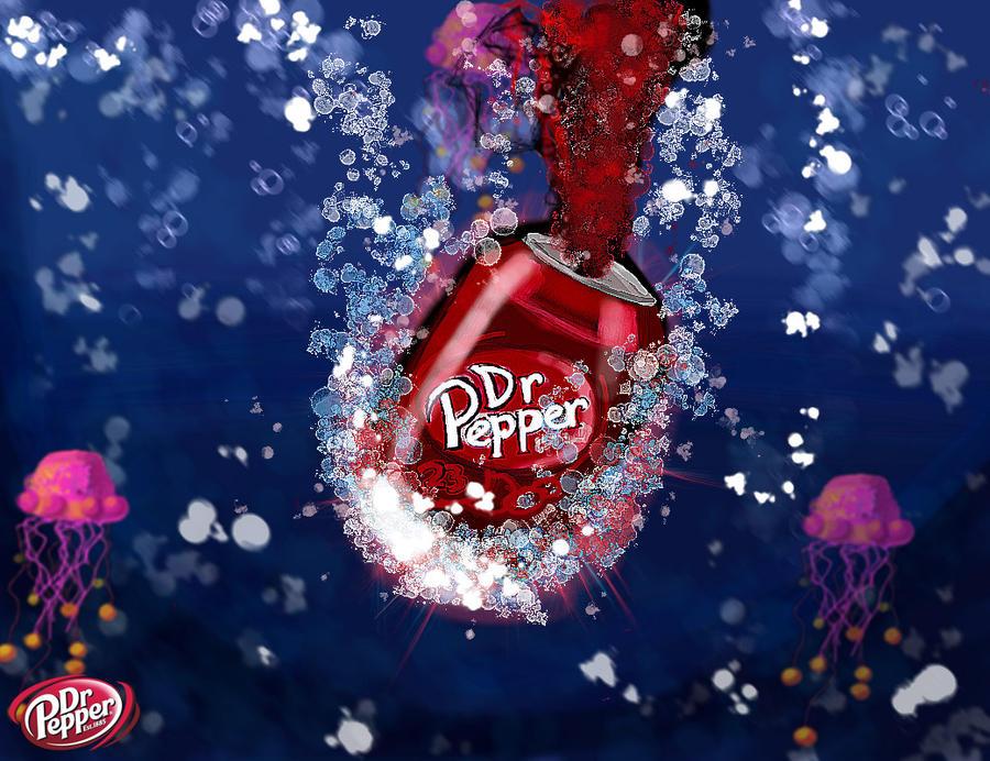 The Deep Dr Pepper by hugyucom