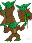 Yoda model sheet