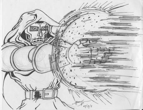 Dr. Doom. Full Blast