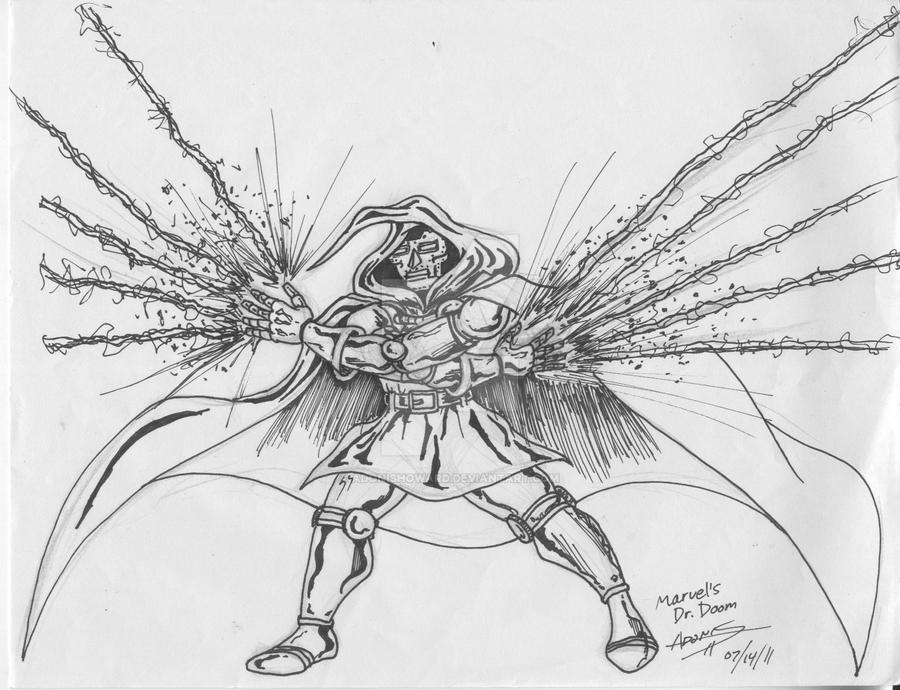 Dr. Doom. Unleashed by adonishoward