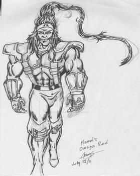 Omega Red. Marvel