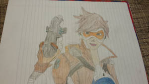 Overwatch- Tracer Colored