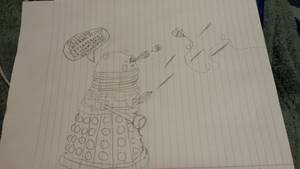 Randraw- Dalek attacked by a bee