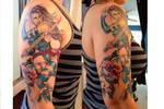 More of Psylocke tattoo 2 by CarolineCosplay