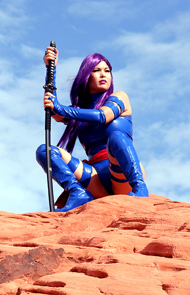 Psylocke Cosplay Reflection by AsianPsylocke