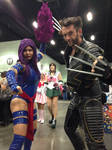 The Hollywood Wolverine and Psylocke