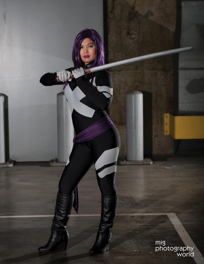 Comikaze 2014 Psylocke Photoshoot 5 by AsianPsylocke