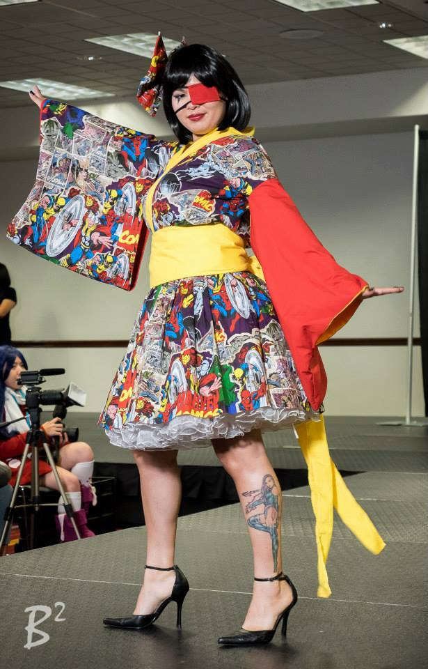 Girl With One Eye Fashion Show By Carolinecosplay On