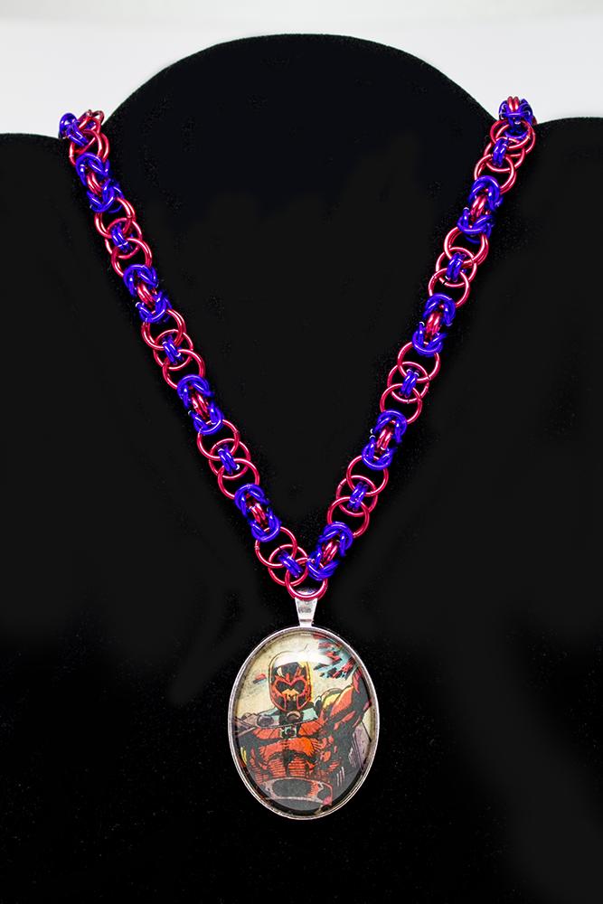 Magneto Byzantine Necklace by CarolineCosplay