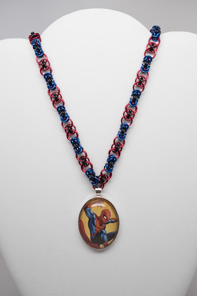 Spider-man necklace by CarolineCosplay