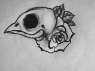 Birdy tat by BitternessPrincess