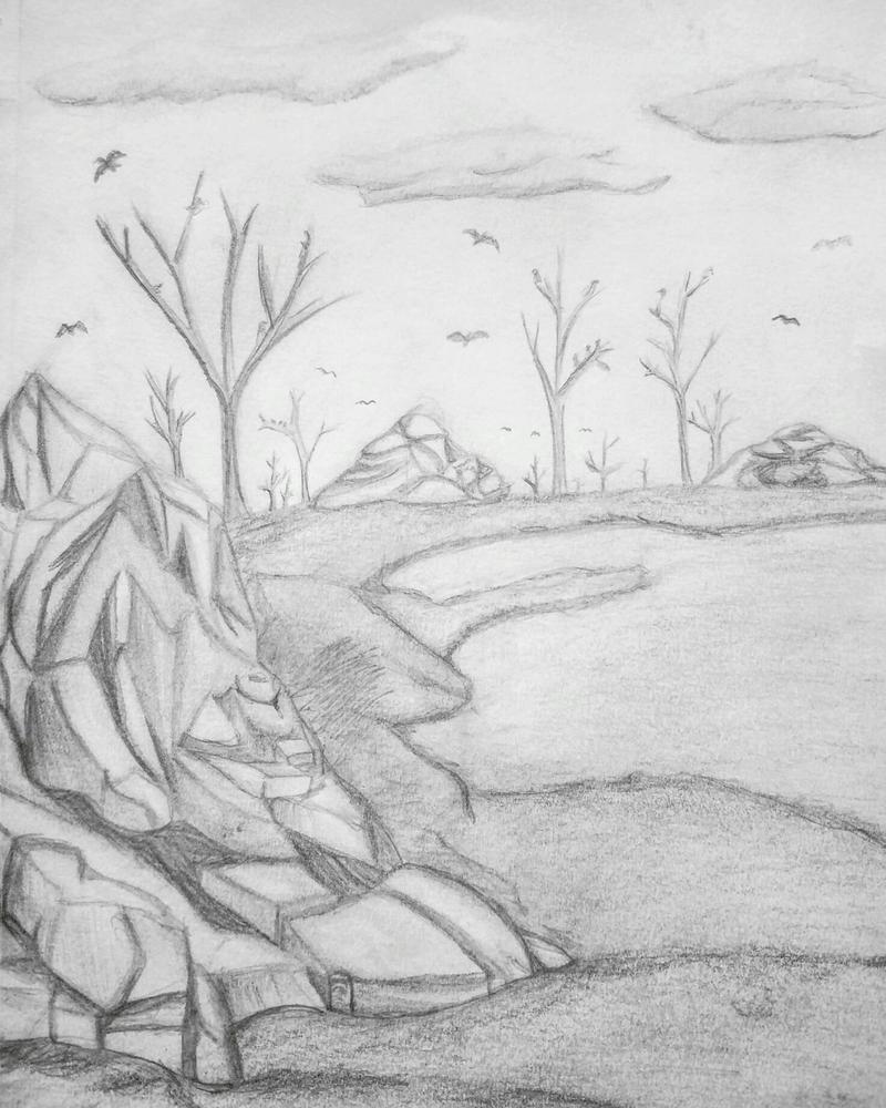 Landscape Practice (Traditional) by RavenRules829