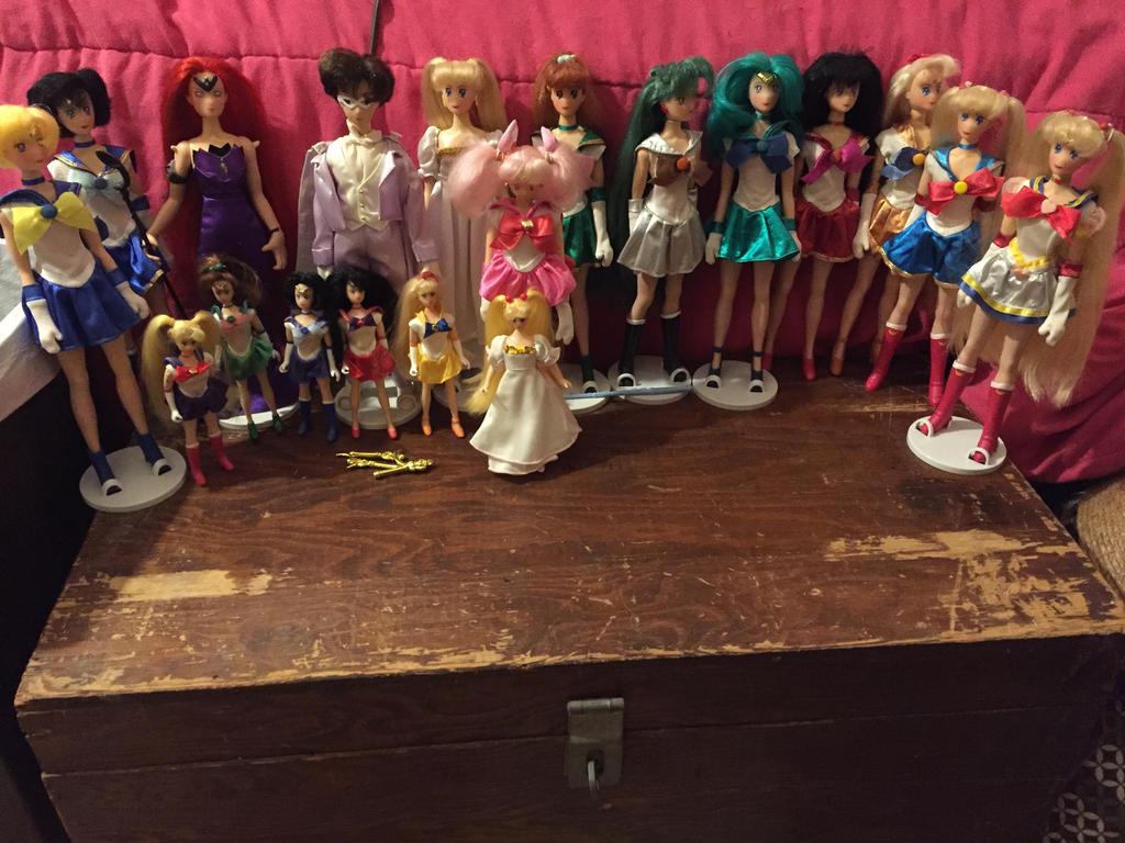 For Sale Sailor Moon Irwin Doll Lot Ebay Auction By Djvanisher On Deviantart