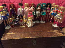 FOR SALE SAILOR MOON IRWIN DOLL LOT EBAY AUCTION.