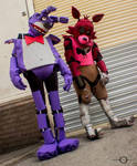 Bonnie and Foxy by No-Limit-Cosplay