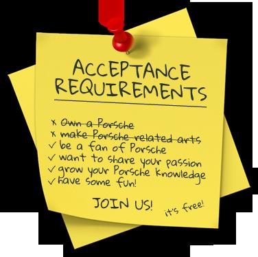 ACCEPTANCE REQUIREMENTS