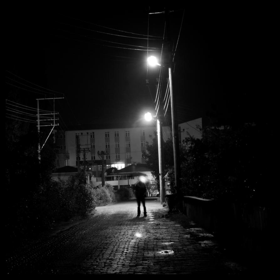 There is Something Coming BW by OnurKorpeoglu