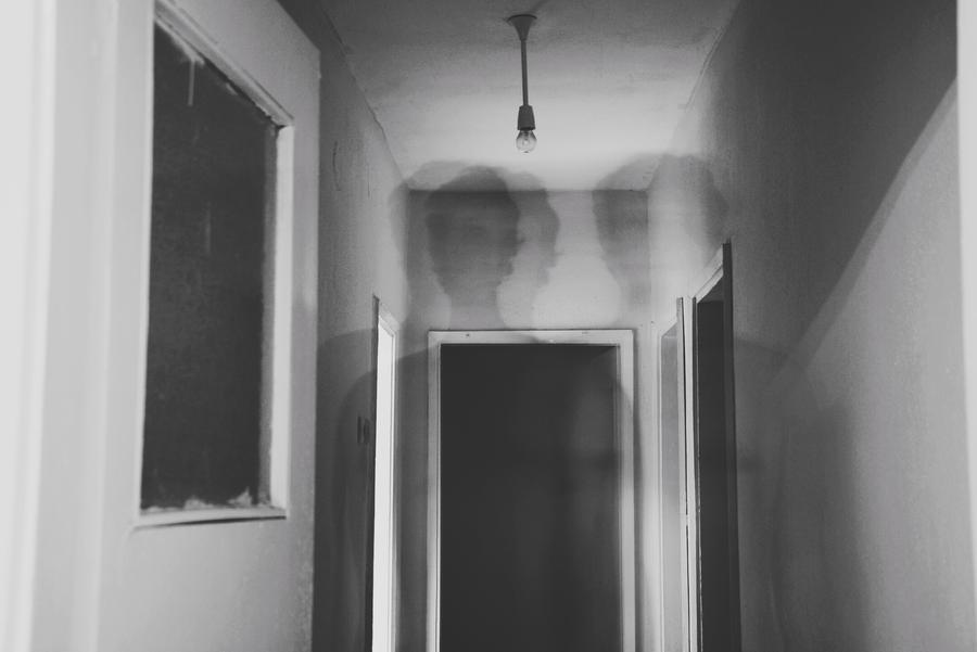 A Portrait of a Man Who Feels Alone: Inhalation by OnurKorpeoglu
