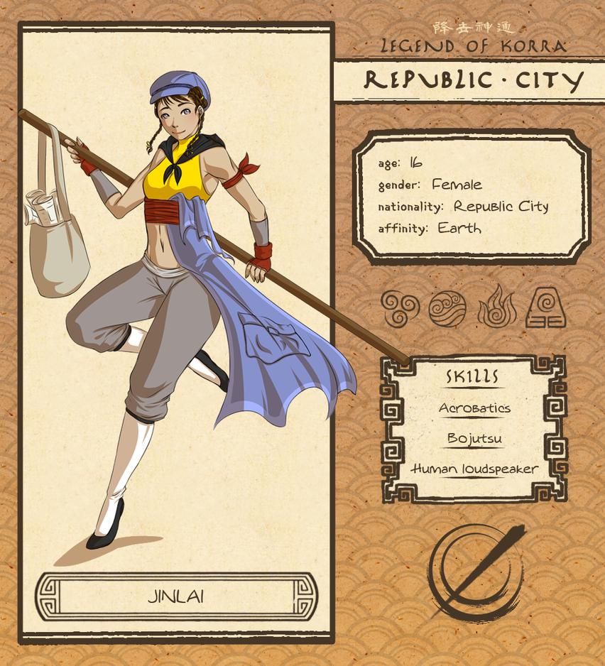 Republic City - Jinlai by Pikakus