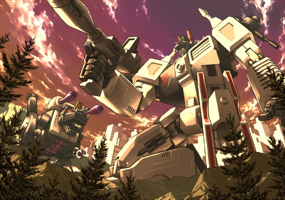 [Pro Art et Fan Art] Artistes à découvrir: Séries Animé Transformers, Films Transformers et non TF - Page 4 G1_metroplex_by_yorozubussan-d3b2gm7