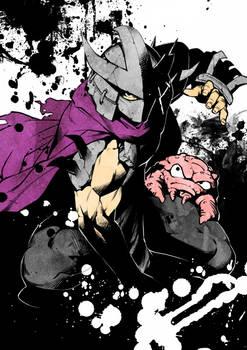 TMNT Shredder and Krang