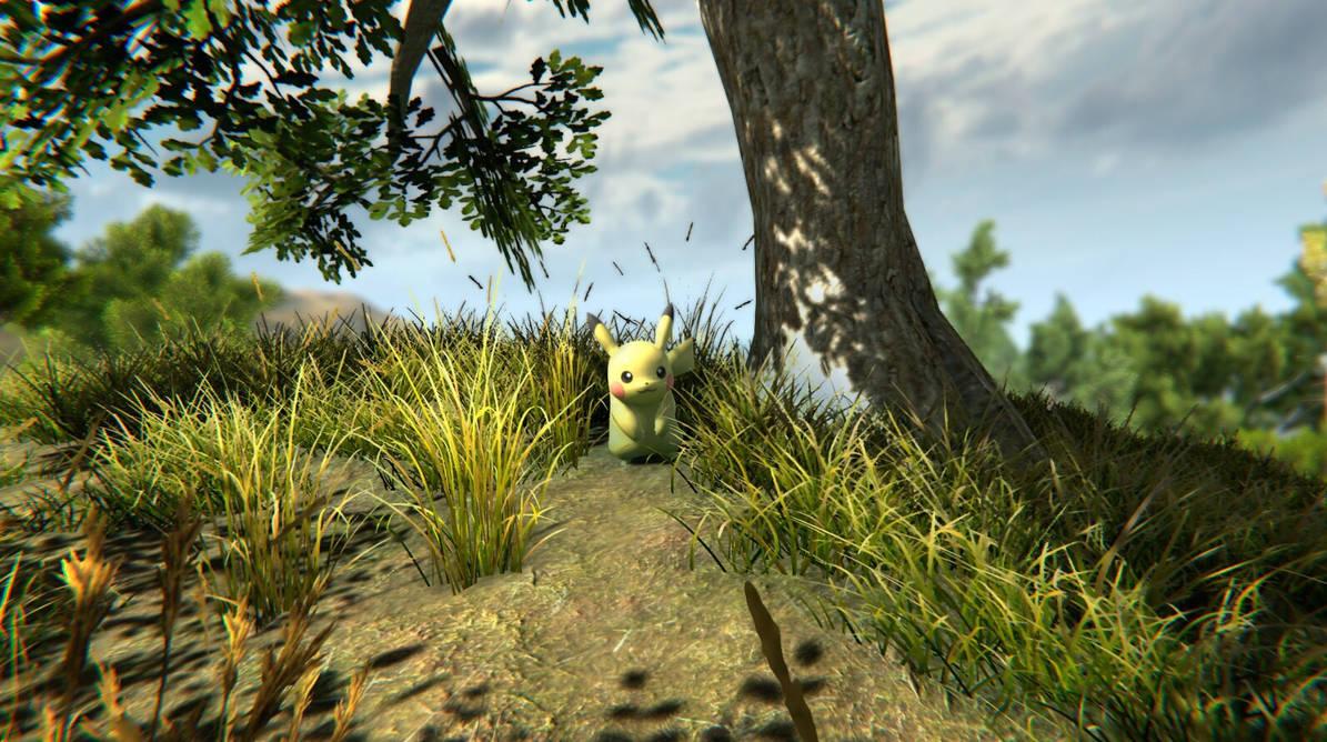 Pokmon goes HD by HydregonArt