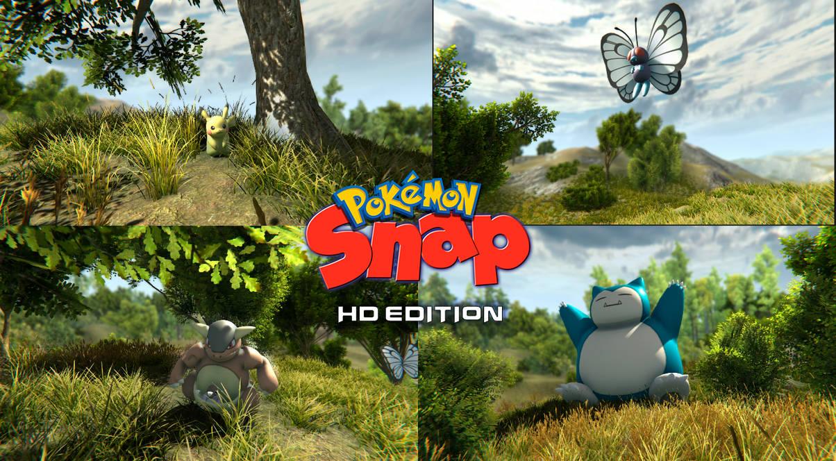 Pokemon Snap HD Edition by HydregonArt