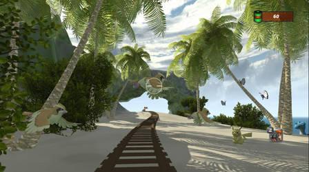 Beach Course by HydregonArt